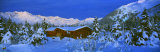 Cabin Mount Alyeska, Alaska, USA Photographic Print by  Panoramic Images