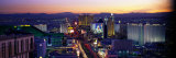The Strip, Las Vegas, Nevada, USA Photographic Print by Panoramic Images