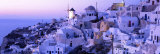 Evening, Ia, Santorini, Greece Photographic Print by  Panoramic Images