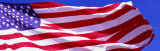 American Flag in Wind Fotodruck von  Panoramic Images