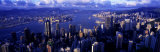 Hong Kong Harbor, Hong Kong, China Photographic Print by Panoramic Images 