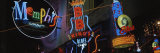 Neon Signs, Memphis, Tennessee, USA Photographie par Panoramic Images