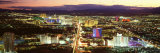 The Strip, Las Vegas Nevada, USA Photographic Print by  Panoramic Images