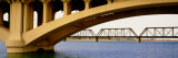 Low Section View of an Arch Bridge, Mill Avenue Bridge, Tempe Town Lake, Arizona, USA Photographic Print by  Panoramic Images