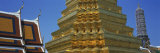 Gold Stupa, Wat Phra Keo, Bangkok, Thailand Photographic Print by  Panoramic Images