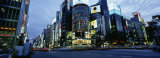 Rush Hour in the City, Ginza, Tokyo, Japan Fotografisk trykk av Panoramic Images,