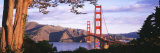 Golden Gate Bridge, San Francisco, California, USA Papier Photo par  Panoramic Images