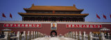 Facade of a Building, Tiananmen Square, Beijing, China Photographic Print by Panoramic Images