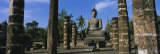 Statue of Buddha in a Temple, Wat Mahathat, Sukhothai, Thailand Photographic Print by  Panoramic Images