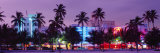 South Beach, Miami Beach, Florida, USA Fotografie-Druck von Panoramic Images 