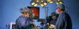 Surgeons Performing Laparoscopic Surgery Fotografisk trykk av Panoramic Images,