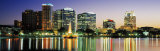 Skyline at Dusk, Orlando, Florida, USA Photographic Print by  Panoramic Images