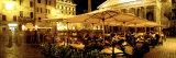 Cafe, Pantheon, Rome Italy Fotografisk trykk av Panoramic Images,