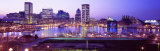 Inner Harbor, Baltimore, Maryland, USA Photographie par Panoramic Images 