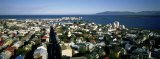 High Angle View of a City, Reykjavik, Iceland Photographic Print by  Panoramic Images