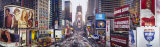 Dusk, Times Square, New York City, New York State, USA Photographic Print by  Panoramic Images