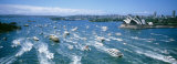 Pleasure Boats, Sydney Harbor, Australia Photographic Print by  Panoramic Images