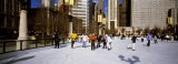 Millennium Park Ice Skating Rink, Chicago, Illinois, USA Photographie par  Panoramic Images