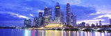 Evening, Singapore Photographic Print by Panoramic Images 