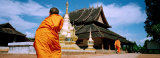 Buddhist Monks, Xishuangbanna, China Photographic Print by  Panoramic Images