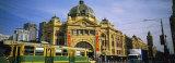 Facade of a Building, Flinders Street Station, Melbourne, Victoria, Australia Fotografisk trykk av Panoramic Images,