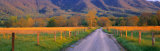 Road at Sundown, Cades Cove, Great Smoky Mountains National Park, Tennessee, USA Photographic Print by  Panoramic Images