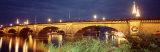 Christmas London Bridge, Lake Havasu City, Arizona, USA Photographic Print by  Panoramic Images
