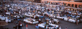 Djemma El Fina, Marrakech, Morocco Photographic Print by Panoramic Images 