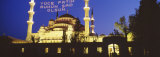 Blue Mosque, Istanbul, Turkey Photographic Print by  Panoramic Images