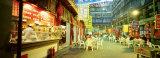 Evening at Market, Beijing, China Fotografisk trykk av Panoramic Images,