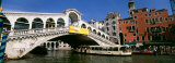 Rialto Bridge, Venice, Italy Photographic Print by  Panoramic Images