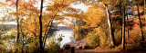 Sunset, Sacandaga Lake, Adirondack Mountains, New York State, USA Fotografie-Druck von  Panoramic Images