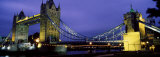 Tower Bridge, London, United Kingdom Photographic Print by Panoramic Images 