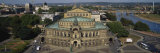 High Angle View of an Opera House, Semper Opera House, Dresden, Germany Photographic Print by  Panoramic Images