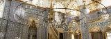 Interior, Rustem Pasa Mosque, Istanbul, Turkey Fotografisk trykk av Panoramic Images,
