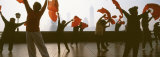Morning Exercise, the Bund, Shanghai, China Photographic Print by Panoramic Images 