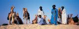 Tuareg Camel Riders, Mali, Africa Fotografisk trykk av Panoramic Images,