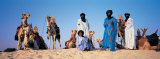 Tuareg Camel Riders, Mali, Africa Photographic Print by  Panoramic Images