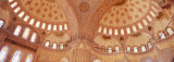Interior, Blue Mosque, Istanbul, Turkey Photographic Print by  Panoramic Images