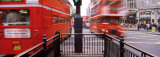Buses Art Oxford Circus, London, England, United Kingdom Photographic Print by Panoramic Images
