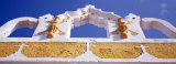 Church Detail, Yellow City, Izamal, Yucatan, Mexico Photographic Print by  Panoramic Images