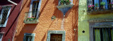 Low Angle View of Balconies in Houses, San Miguel De Allende, Guanajuato, Mexico Photographic Print by Panoramic Images