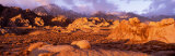 Dawn, Mt. Whitney, Alabama Hills, California, USA Photographic Print by  Panoramic Images