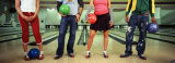 Youths in Bowling Alley, USA Photographic Print by  Panoramic Images
