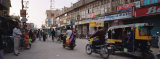 Road Passing Through a Market, Bikaner, Rajasthan, India Photographic Print by  Panoramic Images