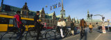 Group of People Riding Bicycles, Copenhagen, Denmark Photographic Print by  Panoramic Images