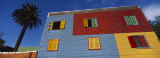 Low Angle View of a Building, La Boca, Buenos Aires, Argentina Photographic Print by Panoramic Images