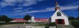 Facade of a Hotel, Tadoussac Hotel, Quebec, Canada Photographic Print by  Panoramic Images