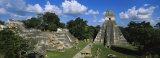 Ruins of an Old Temple, Tikal, Guatemala Photographie par  Panoramic Images