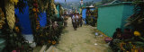 Houses Decorated with Flowers, Zunil Cemetery, Guatemala Photographic Print by  Panoramic Images